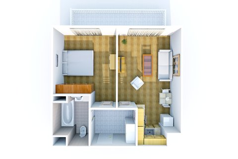 Plánek bytu C. 2.304