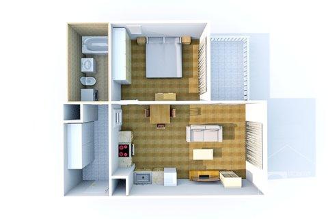 3D plánek bytu