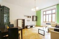 Pronájem bytu 2+1/komora v bytě, DR, 52m² - Praha 6 - Bubeneč, ul. Jaselská