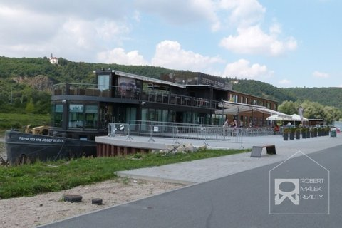 Modřanská cyklostezka - restaurace Port