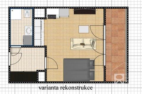 3D plánek - varianta možné úpravy 2