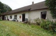 Prodej chalupy, 3+1/2 komora + stodola, 450m² - Stříbřec - Mníšek, okr. Jindřichův Hradec