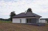 Novostavba rodinného domu 3+kk/T/parkovací stání na pozemku, Kozmice u Benšova