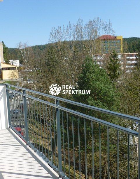 výhledd z balkonu