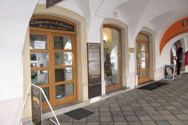 Obchodní prostory k pronájmu- náměstí Míru, Svitavy