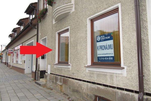 Pronájem obchodních prostor, kanceláře 62 m2 -  Boskovice