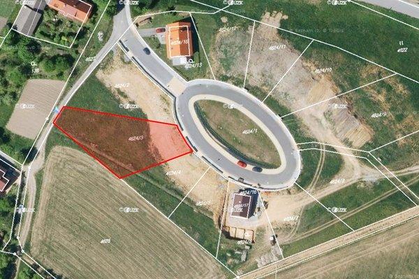 Prodej stavebního pozemku pro bydlení 1256 m2 v Prosetíně u Bystřice nad Perštejnem