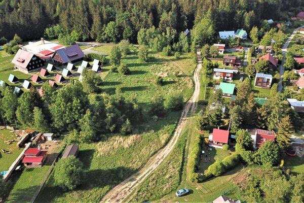Prodej pozemku pro stavbu chaty 2457 m² v obci Suchý