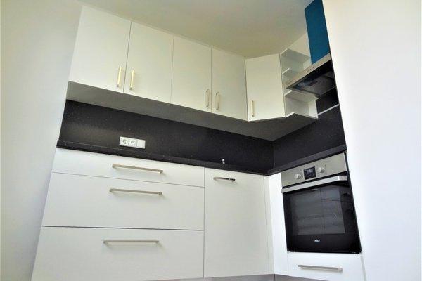 Pronájem bytu 1+1 32 m² s balkonem ve třetím patře na ulici Družstevní v Letovicích