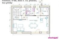 5+kk_dům č.13 půdorys přízemí