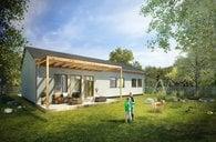 Prodej RD  Bungalov Bondone 123  4+kk/terasa  104,5 m²/ 18 m²