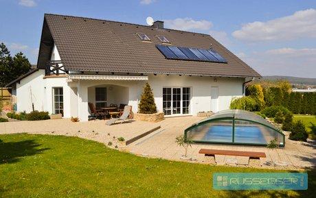 Luxusní vila s bazénem a s okrasnou zahradou 6+kk Bílovice nad Svitavou, Ev.č.: polachDM27451