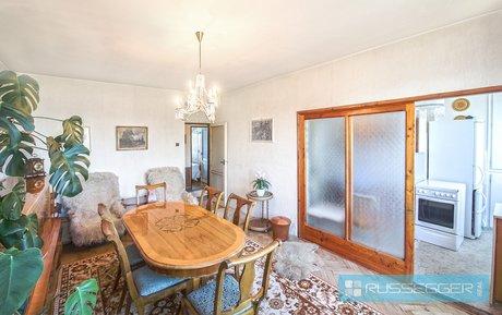 Prodej bytu vOV 3+kk sdvěma sklepy, zděnou garáží a zahradou, Ev.č.: 29417