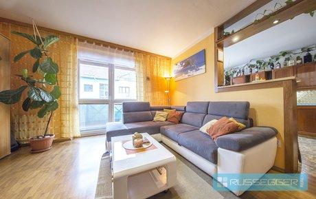 Prodej, prostorný byt 2+1, 70 m²  s balkonem a garáží- Újezd u Brna, Ev.č.: 29483