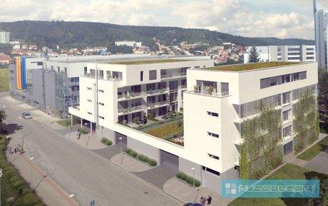 Pronájem bytu 2+kk 54 m2 s balkonem a parkovacím stámím,Brno-Bohunice, Ev.č.: 29519