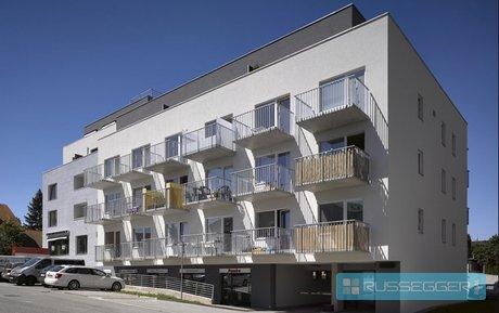 Pronájem nově vybaveného bytu 1+kk, vnitřní parkovací stání, sklep, novostavba, Palackého náměstí - Rosice, Ev.č.: 29526