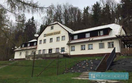 Prodej  Penzionu s pozemkem 5 545 m² - Vrbno pod Pradědem, Ev.č.: 29528