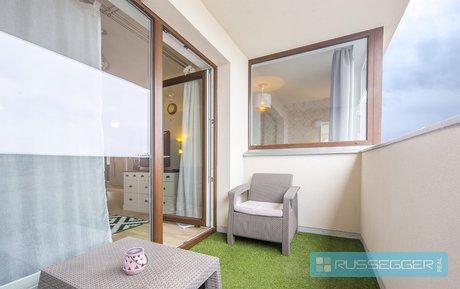 Prodej luxusního bytu 2+kk 68 m2 s balkonem a parkovacím stáním Brno - Slatina, Ev.č.: 29531