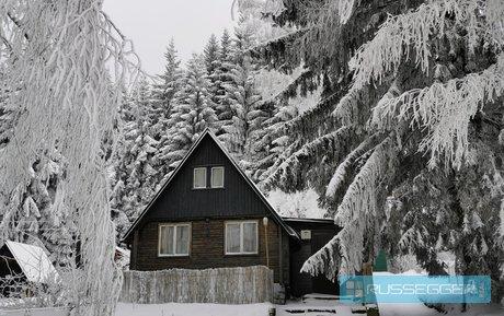 Prodej dvoupodlažního rodinného domu 4+kk v malebné krajině, pozemek 469 m2, Zlaté Hory, Jeseníky, Ev.č.: 29587