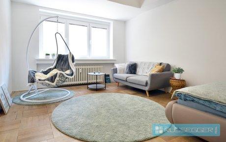 Pronájem krásného bytu o dispozici 2+kk a rozloze 45 m² s balkonem, situovaný v centru Brna, ulice Mezírka, Ev.č.: 29597