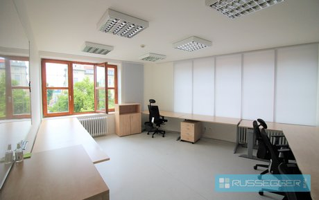 Pronájem krásné kanceláře v centru Brna - Veveří, 131 m², Ev.č.: 29601