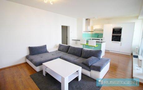 Pronájem luxusního bytu 2+kk, 100m2 s garážovým stáním, sklepem a zatravněnou terasou, Brno - Bystrc, Ev.č.: 29620