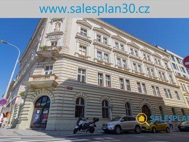 Prodej bytu 1+1 46m², Praha 5 - Smíchov