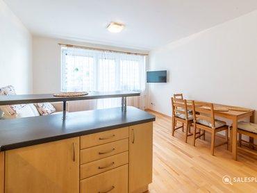Obývák s kuchyňským koutem III