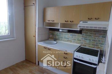 Pronájem bytu 1+1 s lodžií, Ústí nad Orlicí, Hylváty, Ev.č.: 00162