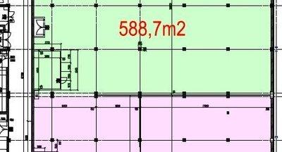 Prenájom skladu 590 m2 Rača
