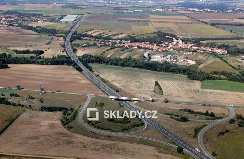 Prologis letecký snímek