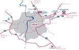 Mapa, P3 Prague D11
