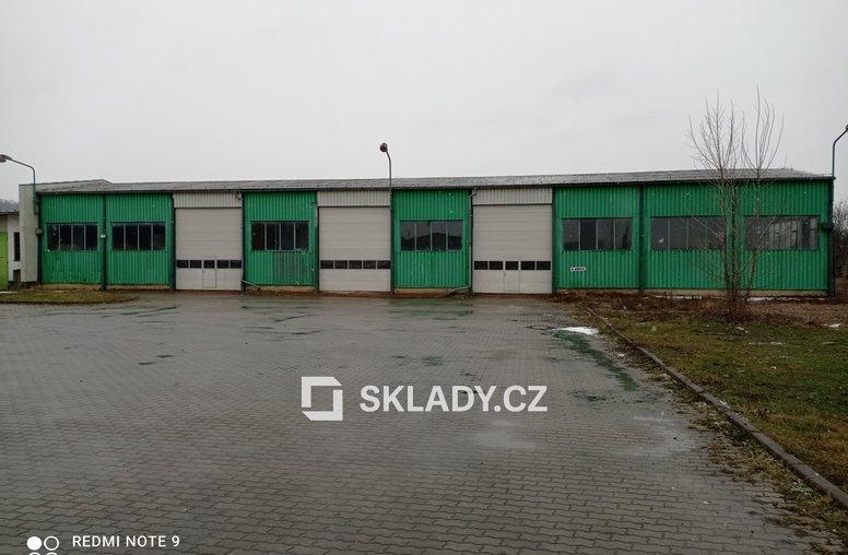 Skladová hala 1 100 m2 - Nelahozeves