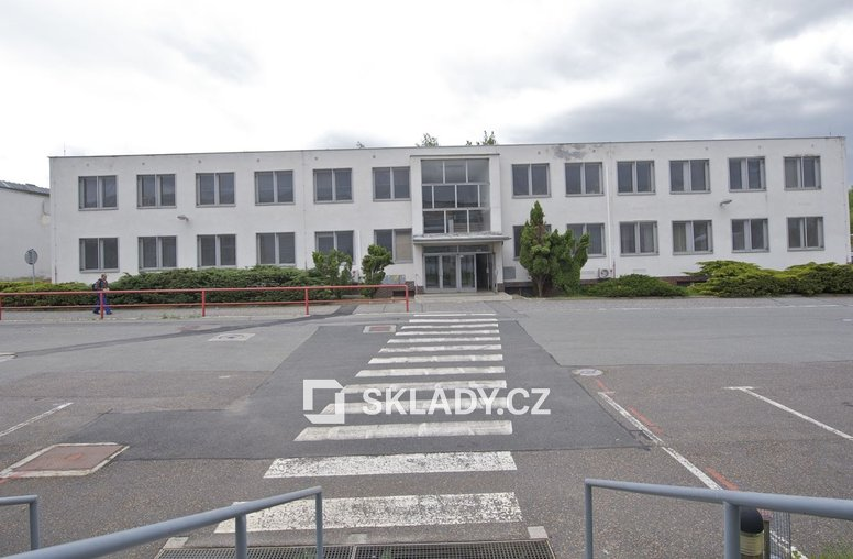 Průmyslový areál Stříbro - hala č. 3 (administrativní budova)