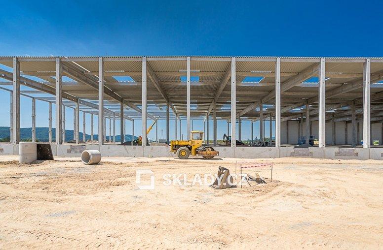 CTPark Blatnice - výstavba