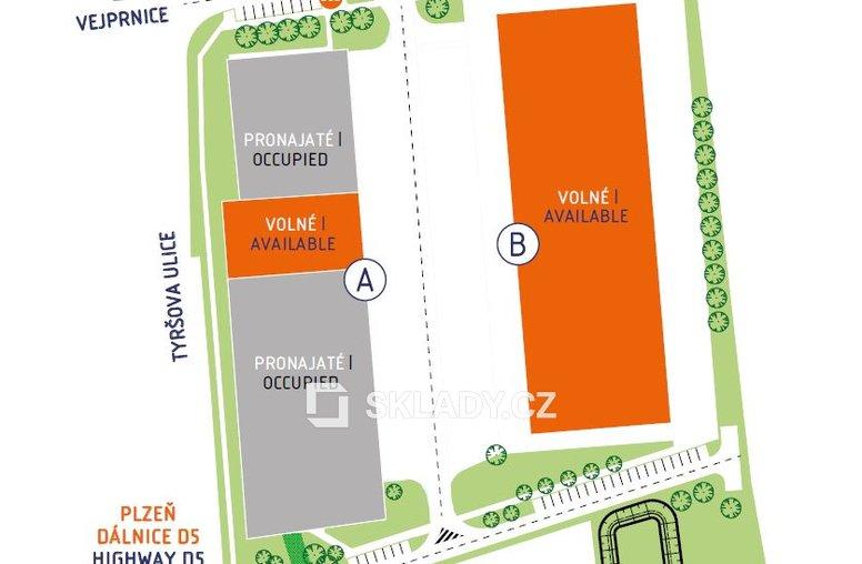 Amesbury - layout Vejprnice