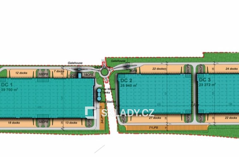 Prologis layout
