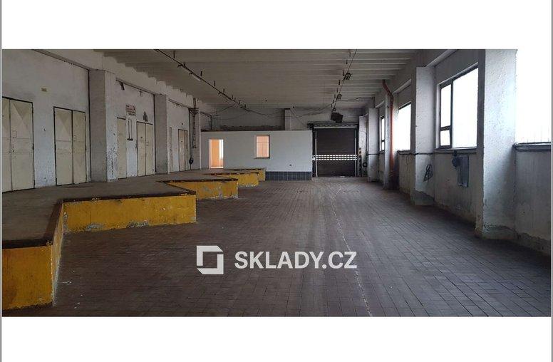 500 m2 - sklad Chomutov
