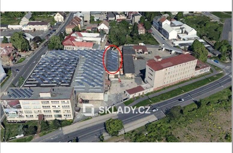 Sklad 500 m2 - Chomutov--