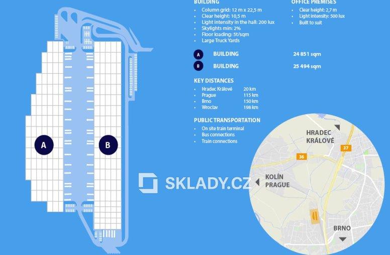 Panattoni Pardubice. - layout
