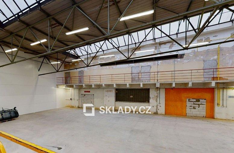 Hala 860 m2 - Havlíčkův Brod.