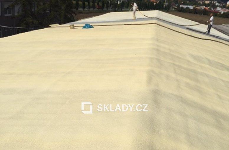 Litoměřice - nová střecha PUR (1)