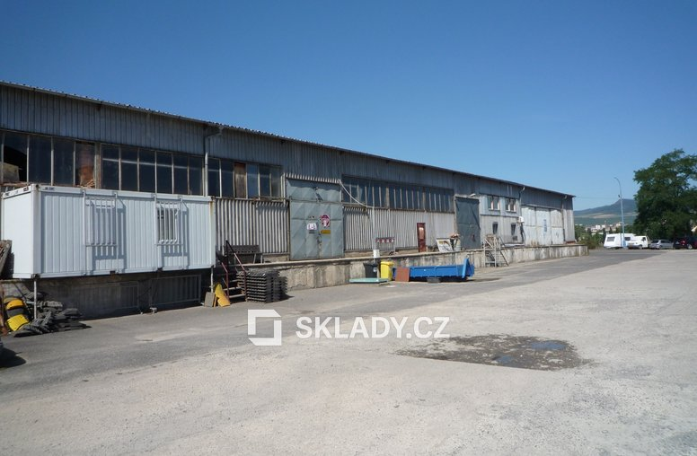 skladová hala 1300 m2 - Litoměřice