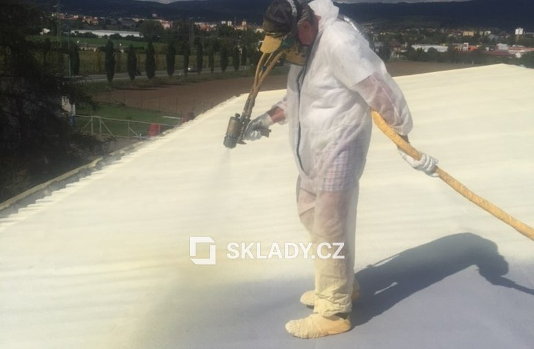 Litoměřice - nová střecha PUR (2)