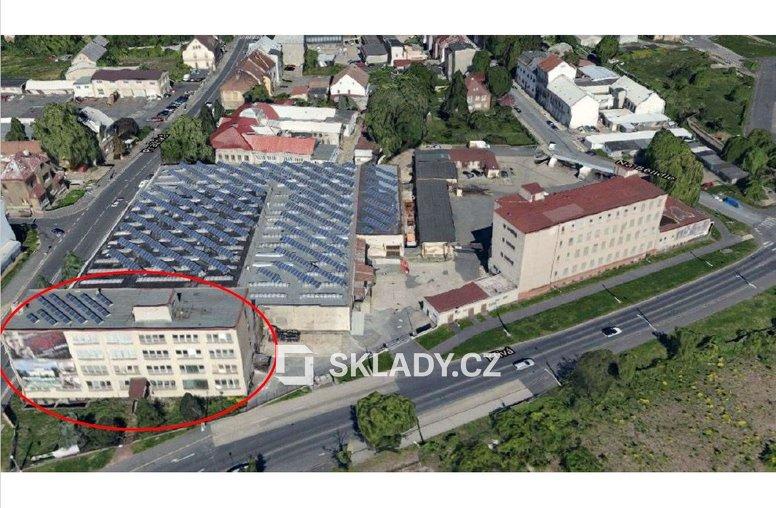 Hala 1840 m2 - Chomutov-letecký snímek