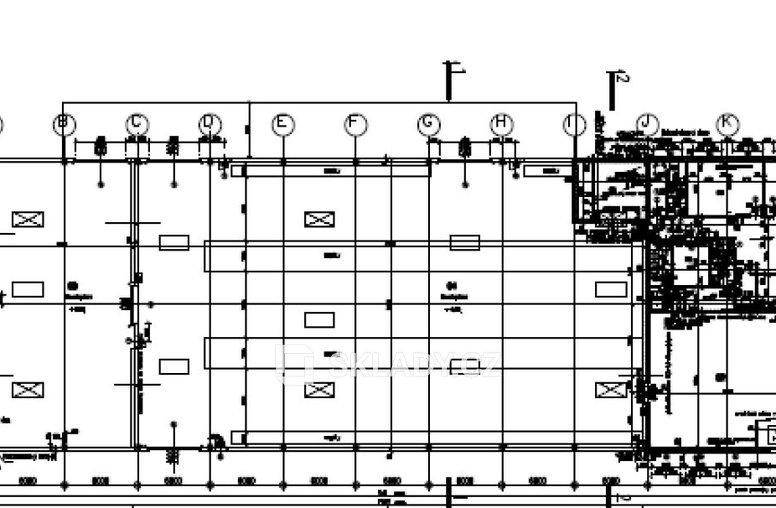 Vestec - layout