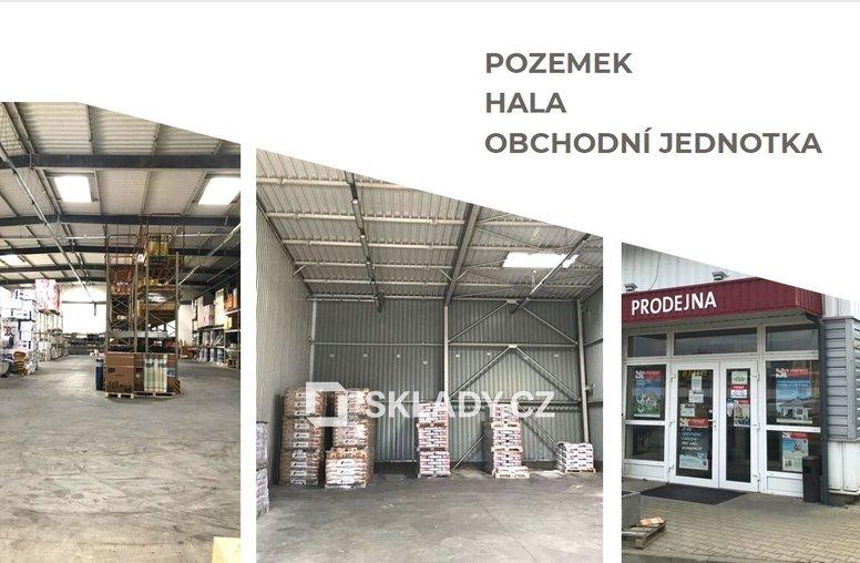 Hala 1 300 m2 - Vestec