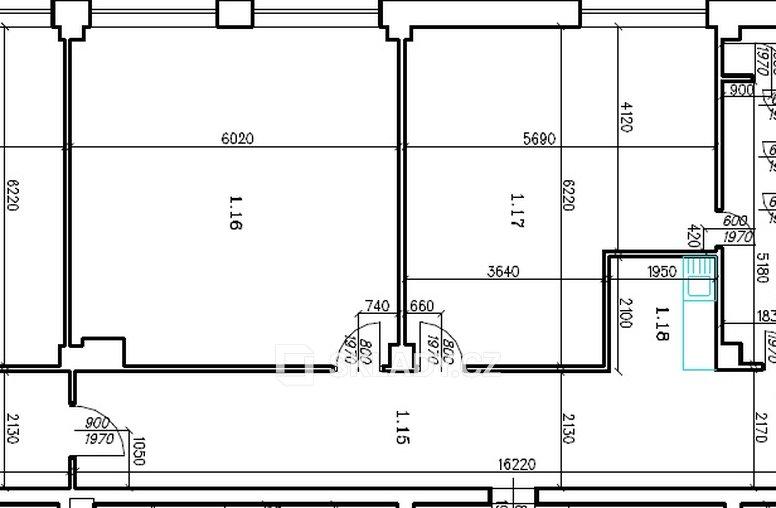 K - Zámečna 1.NP - Sever - 205 m2