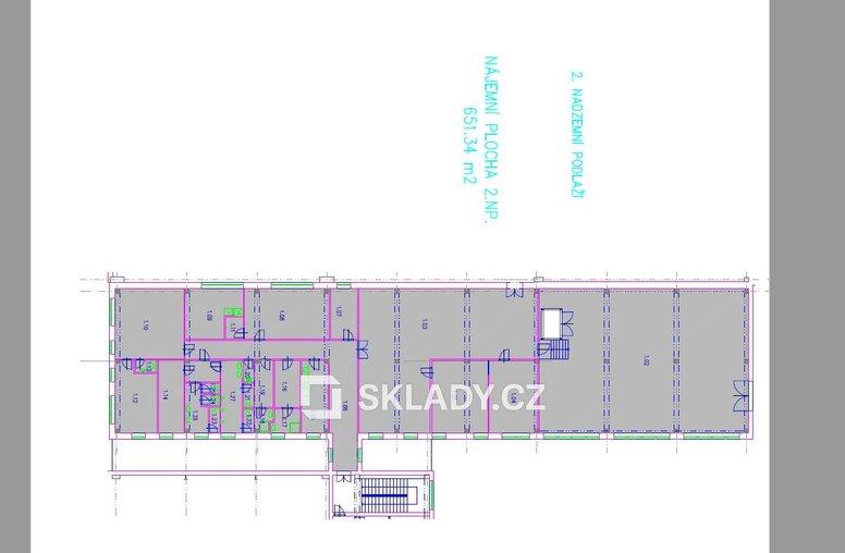 Kbely - layout. 2. NP