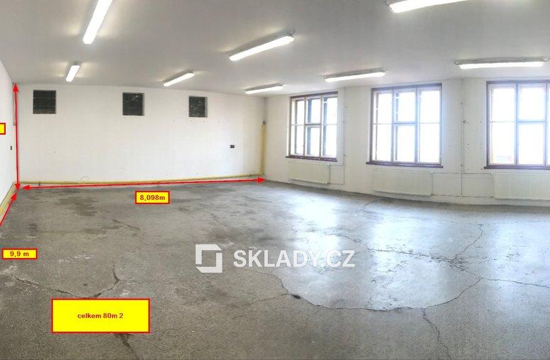 HOŘICE SKLADOVÉ PROSTORY 220 M2